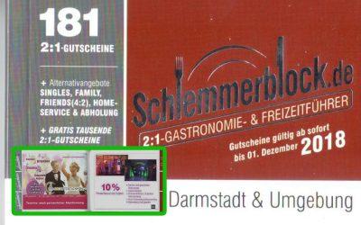 Schlemmerblock 2018/9